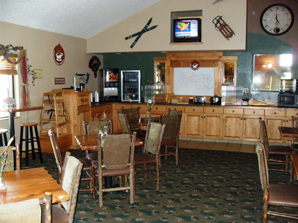 Americinn chamberlain south dakota breakfast area for Chamberlain sd fishing report